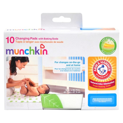 Munchkin Arm and Hammer Disposable Changing Pad