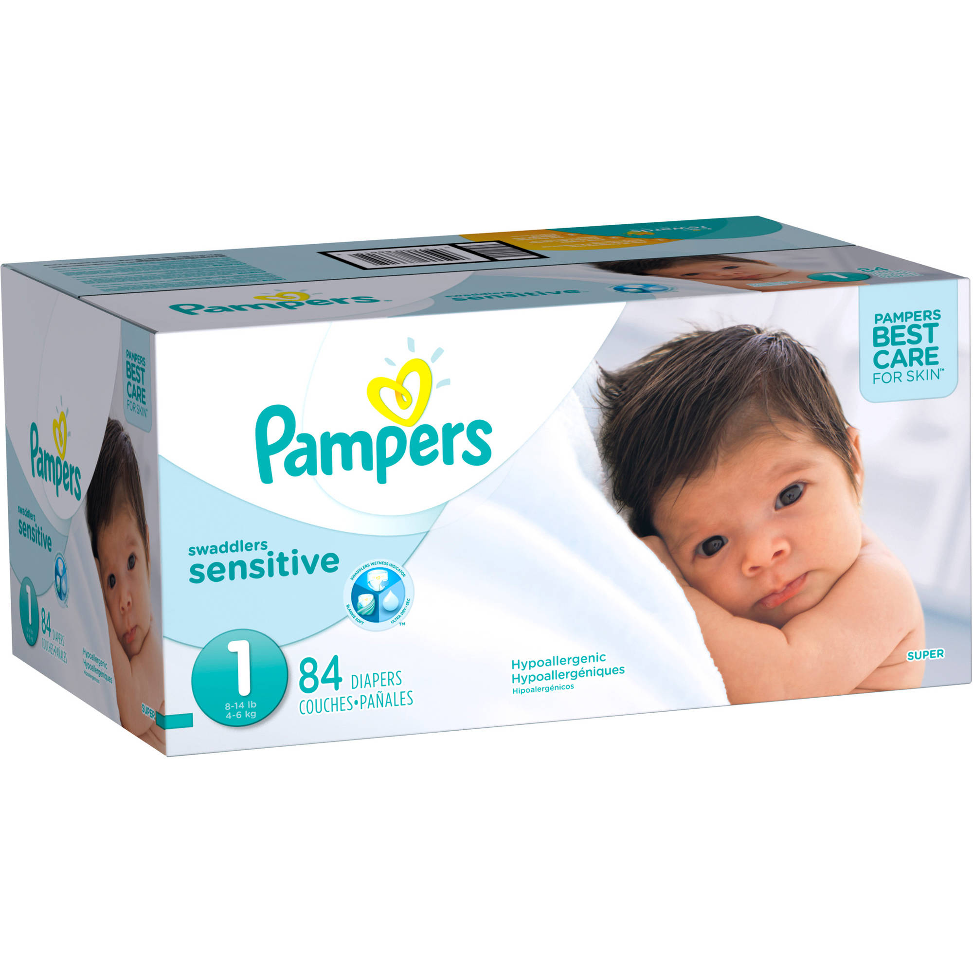 Pampers Swaddlers Sensitive Disposable Diapers